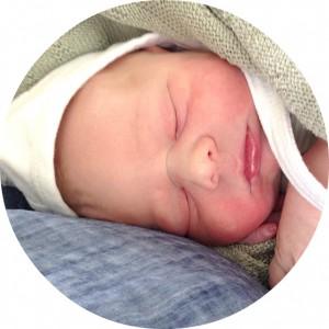 Asger nyfødt