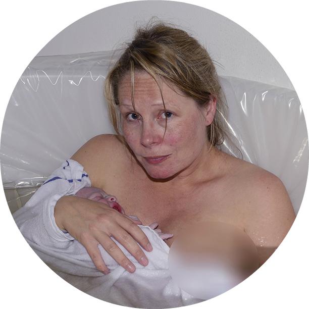 Marlene Corydon vandfødsel